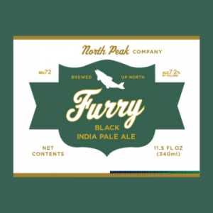 north peak furry black ipa