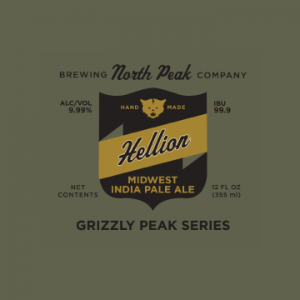 north peak brewery hellion ipa
