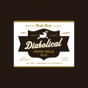 north peak brewery diabolical ipa