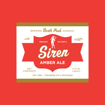 north peak siren amber ale