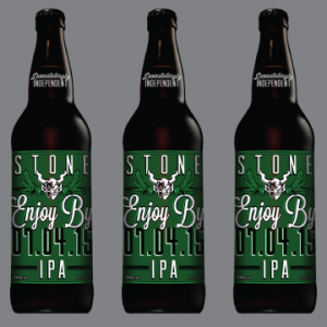 stone enjoy by 07.04.15 ipa